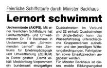 """2010-05-27 Anzeigenkurier: Presse """"Schwimmender Lernort"""""""