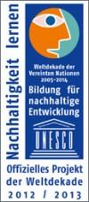 Nachhaltigkeit lernen - Offizielles Projekt der Weltdekade 2012/2013